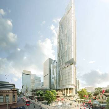 Walker Corporation Receives Approval for Australia's Largest Commercial Tower, 8 Parramatta Square