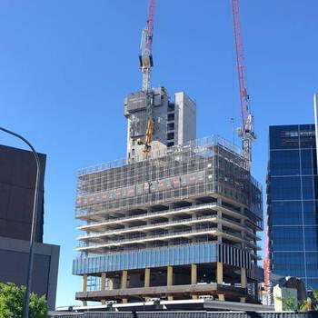 4 Parramatta Square Construction Update