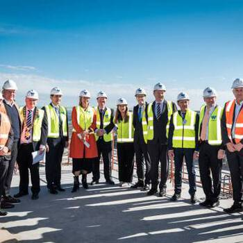 Major milestone achieved with Topping out of Tower 4