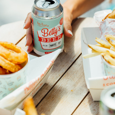 Betty's Very Own Beer With Your Burger
