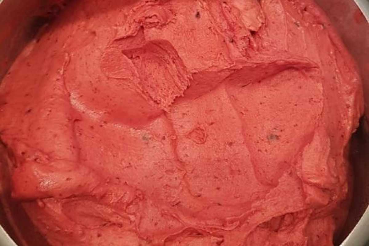 Limited-edition Blood Plum Sorbet