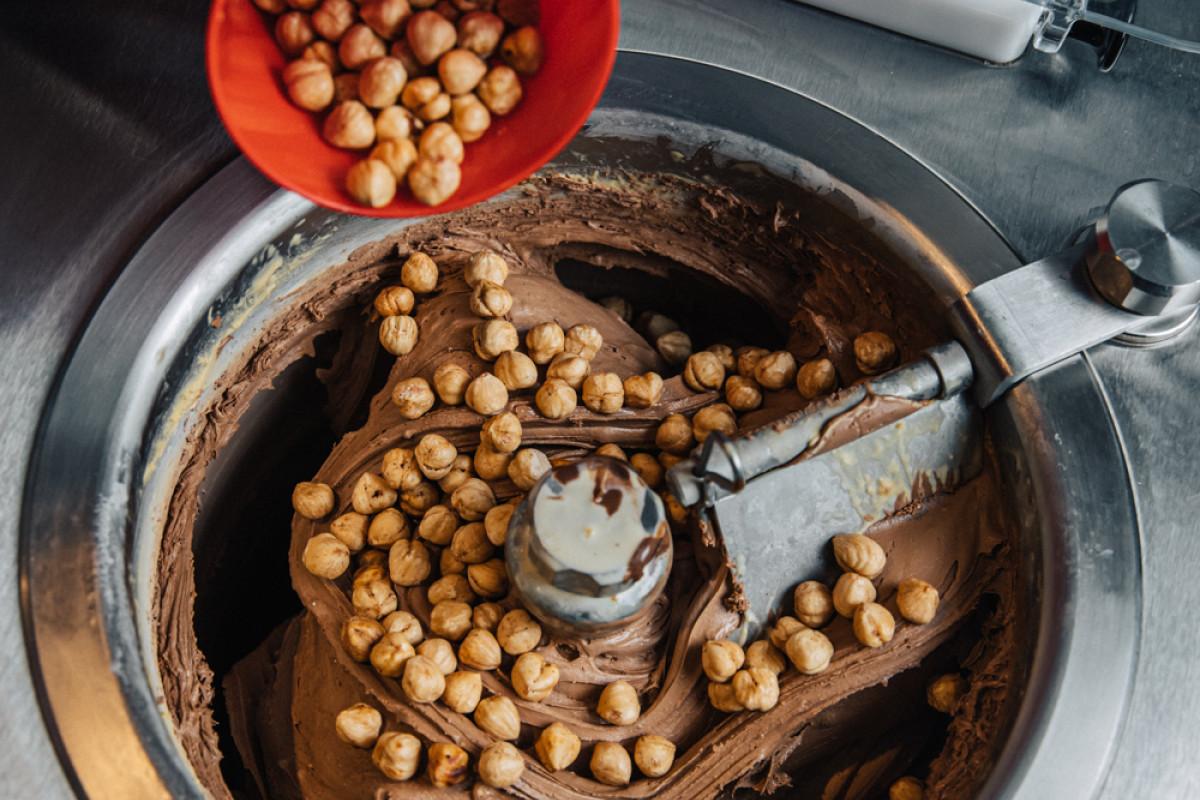 Rivareno Gelato's Bacio Flavour