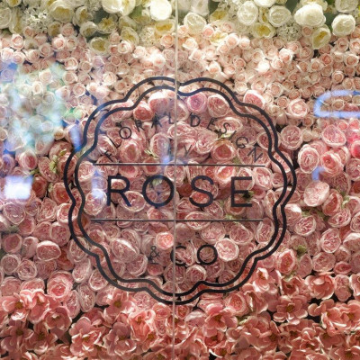 Rose & Co Floral Wall