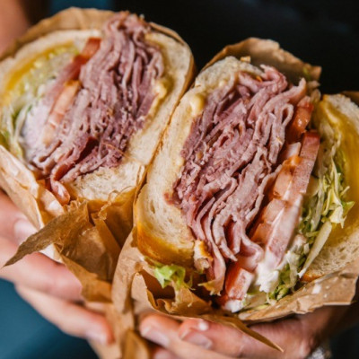 Harvey's Hot Sandwiches is simply the best!