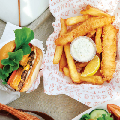 Reel in a deal at Betty's Burgers