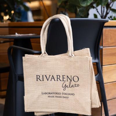 Rivareno Gelato's New Green Bag