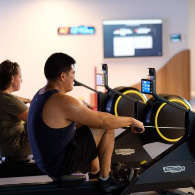 Universal Fitness Weekly Row Challenge
