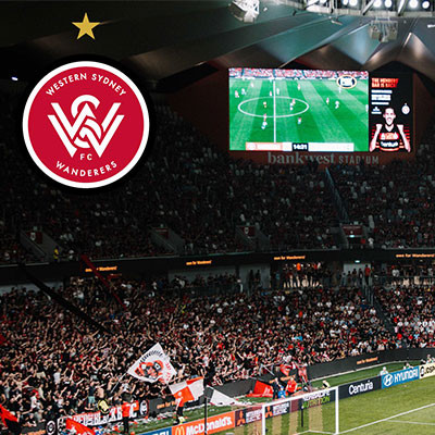 20% off All Wanderers Home Game Tickets